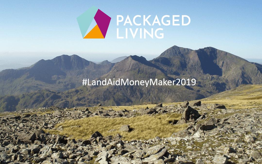 Packaged Living take on the 3 Peaks Challenge for the LandAid Money Maker 2019