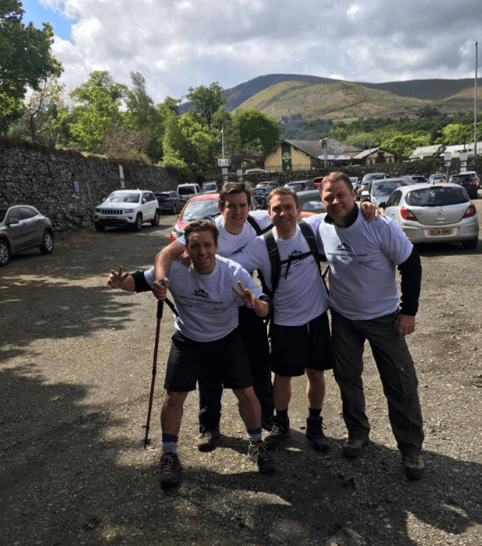 Packaged Living complete the 3 Peaks Challenge for LandAid