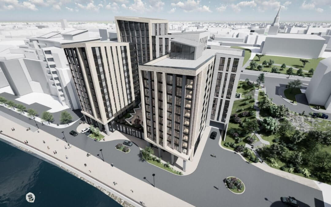 Planning submitted for Newcastle's largest build-to-rent scheme