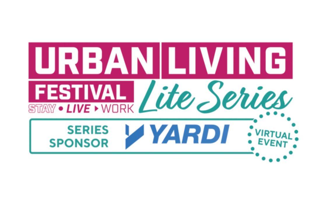 Jon Ivory to join Urban Living Lite Webinar