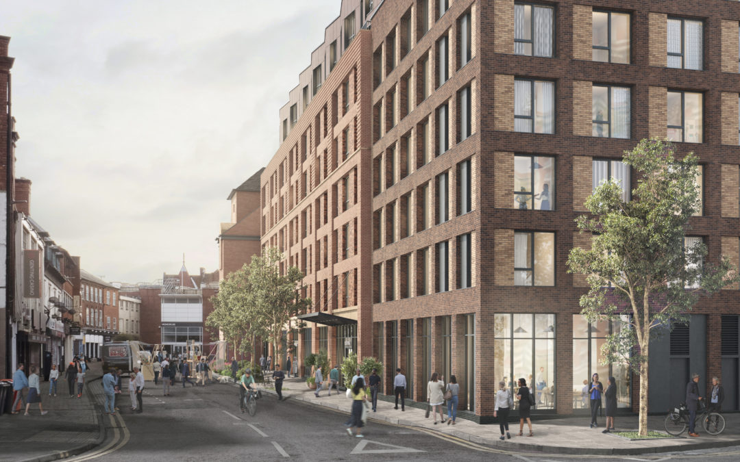Hammerson submits plans to transform former Debenhams store into new homes for rent